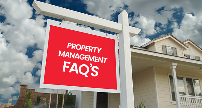 Property Management FAQS